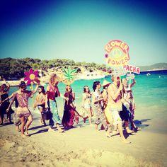 FLOWER POWER #pacha #party #IBIZA #island #peace #love #happines