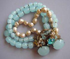 Vintage Miriam Haskell bracelet.