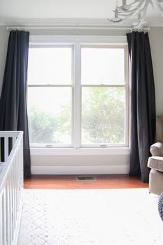 Super Easy DIY Blackout Curtains - Living Letter Home,Super Easy DIY Blackout Curtains - Living Letter Home Things to know about curtains First of all: don't worry. Because nowadays it creates no differen. Diy Blackout Curtains, Blackout Panels, Custom Curtains, Drapes Curtains, Sewing Curtains, Insulated Curtains, Diy Furniture Easy, Curtains Living, Blinds For Windows