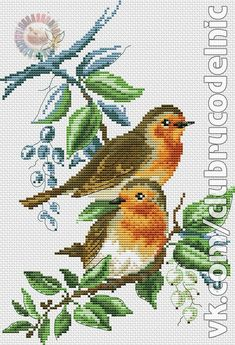This Pin was discovered by Val Cross Stitch Bird, Cross Stitch Samplers, Cross Stitch Animals, Cross Stitch Charts, Cross Stitching, Cross Stitch Embroidery, Embroidery Patterns, Hand Embroidery, Wedding Cross Stitch Patterns