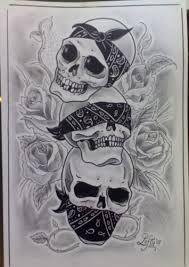 @proulxjustice #yourstory #bodyart #tattoo see-no-evil-hear-no-evil-speak-no-evil-skull-tattoo.jpg (189×267)