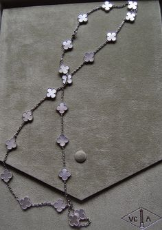 van cleef and arpels alhambra necklace