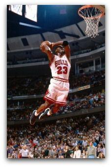 Michael Jordan, The only NBA player I knew about for a very very long time. (Could be due to Space Jam)