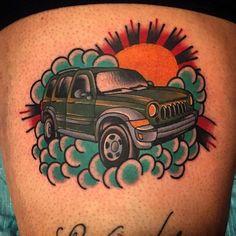 jeep tattoo on pinterest jeeps truck tattoo and jeep girl. Black Bedroom Furniture Sets. Home Design Ideas
