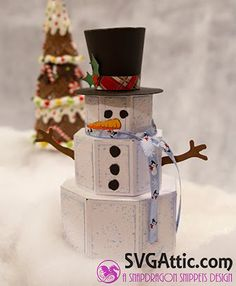SDS Frosting the Snowman from SVG ATTIC