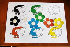 "ТЗ ""Овечки"" ( Софийке 1.8) Education, Drawings, Kids, Farm Gate, Young Children, Boys, Sketches, Children, Onderwijs"
