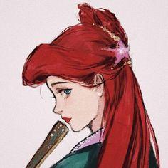 Khi các nàng công chúa Disney xuyên không đến Trung Quốc thời cổ đại Disney And Dreamworks, Disney Pixar, Disney Characters, Disney Princesses, Punk Disney, Disney Princess Art, Disney Fan Art, Disney Little Mermaids, Ariel The Little Mermaid