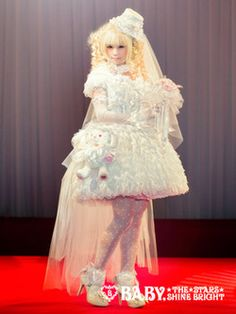lolitahime:  Midori Fukasawa modeling a new dress from the BABY x Disney Collaboration collection.