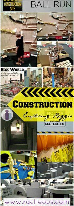 Construction {Exploring Reggio} Part I - Racheous - Lovable Learning: