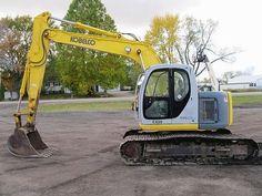 Kobelco Equipment    Excavator used for sale Kettenbagger #bagger http://www.ito-germany.de/baumaschinen/ #auctioneer #usa #kobelco #rbauction