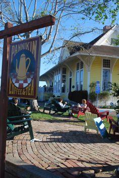 AFAR.com Highlight: Coffee, Tea, Art and Conversation by Lauren Nicholl: Pannikin in Encinitas, California