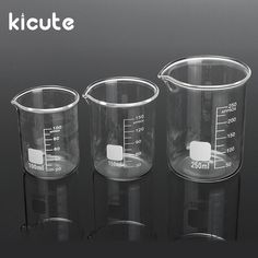 Cheap supplies auto, Buy Quality supply circuit directly from China supply tv Suppliers: Kicute Transparent Glass Beaker Set Graduated Borosilicate Glass Beaker School Laboratory Study Supplies Party Food Bars, Lab Supplies, Glass Figurines, Home Spa, Office And School Supplies, Shot Glasses, Pint Glass, Graduation, Mugs