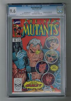 NEW MUTANTS #87 CGC Grade 9.6! Key issue: 1st Cable & more!  http://www.ebay.com/itm/-/302016724333?roken=cUgayN&soutkn=YHVVha