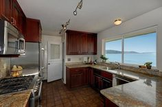 We don't know if we love the kitchen more or the amazing view it has!
