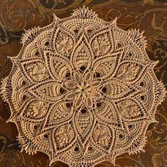 Crochet designs by Zoya Matyushenko by susiluoto Free Crochet Doily Patterns, Crochet Mandala, Crochet Motif, Crochet Designs, Crochet Doilies, Thread Crochet, Crochet Hooks, Doily Rug, Crochet Baby Booties