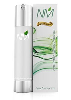 Naturally Mediterranean Natural Facial Moisturizer Cream with Aloe Vera Argan Oil Jojoba Vitamin E and Airless Pump 169 Ounce *** Check this awesome product by going to the link at the image. Severe Eczema, Eczema Psoriasis, Homemade Sunscreen, Acne Oil, Organic Aloe Vera, Facial Skin Care, Argan Oil, Moisturizer