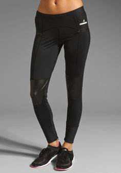 ADIDAS BY STELLA MCCARTNEY 7/8 Running Legging in Black, $100.