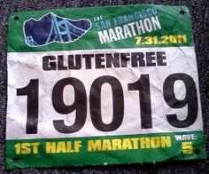 Half Marathon Training -- Gluten Free tips