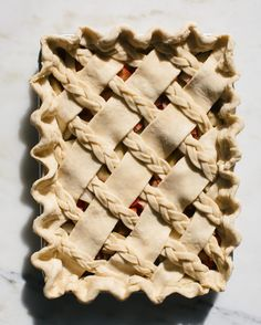 it's friyay and im baking a pie this weekend (not this one but another one!) you should bake up this cuz it's a rhubarb and pear slab pie and it's Pie Dessert, Dessert Recipes, Beautiful Pie Crusts, Pie Crust Designs, Pie Decoration, Pies Art, My Pie, Slow Cooker Desserts, Sweet Pie