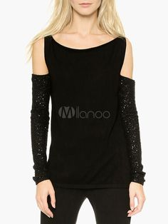 Signed Open Shoulder Sweater - Save Up to 70% Off on fabulous fashion trend products at Milano with Coupon and Promo Codes.