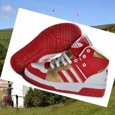 huge discount 91f83 398e1 jeremy scott instinct hi Adidas Jeremy Scott Instinct Hi rouge blanc gold  let you find your own way of life