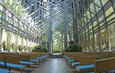 Arkansas Thorncrown Chapel Is The Glass Church In The Woods So Close To God (PHOTOS)