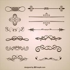 Ornamental dividers