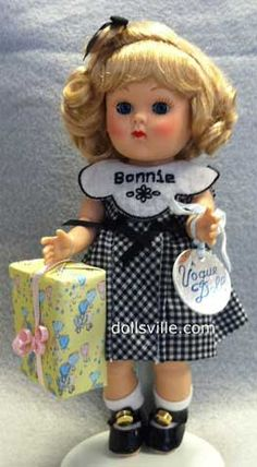 "Bonnie by Vogue Dolls - ""Bonnie's Birthday Ginny  Doll"" - an ""Exclusive Ginny"" for the Fire-Flies Convention"