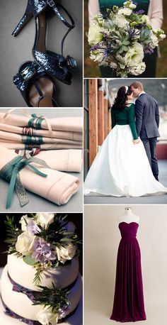 A Winter Wedding (2) - Read More on One Fab Day http://onefabday.com/scottish-winter-wedding-theme/