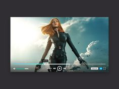 PlayerON is a video player #ui that has 3 screens, pause, play and an error.