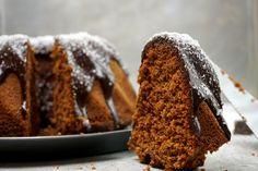 Schokoladen-Kokos Kuchen mit weichem, dickem Schokoguss!
