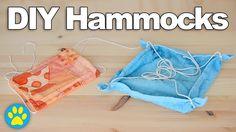 2 DIY Hamster Hammocks | #DIYJuly