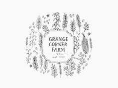 I also really adore this logo, I like the round appeal, the cluster icon background, the vintage frame containing the font. I also like the idea of having the established date of the farm on the logo. Although I know that our name is quite long so I don't want it to look too busy. Top 5