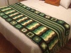 MarTelaR: Pie de cama  Crochet