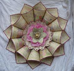 Gorgeous paper wreath