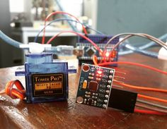 Akses Gyroscope module mpu6050 bisa kalian coba di web saya aruselektronika.blogspot.co.id #arduino #sensor #gyroscope #servo #cable #arduinonano #altium #pcb #project by fickrymhd