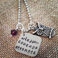 Wisdom, Courage