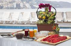 Desayunos en Hotel Calinda Beach