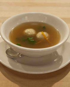Craigie on Main's Matzo Ball Soup Recipe