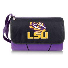 Blanket Tote - Purple (Louisiana State University - Tigers) Digital Print