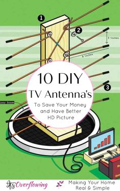 10 Easy Homemade TV Antenna Ideas To Save Your Money
