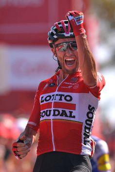 72nd Tour of Spain 2017 / Stage 6 Arrival / Tomasz MARCZYNSKI / Celebration / Vilareal Sagunt / La Vuelta /