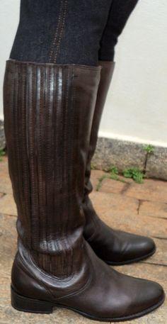 minha 1ª bota montaria (couro) que fechou na panturrilha grossa + detalhes clique na iamgem.