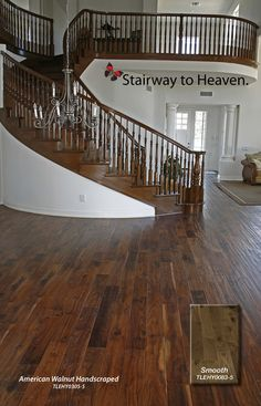 Walnut Hardwood Flooring | WALNUT, MAXIMUS SMOOTH COLLECTION, TLELY0083-5, Hardwood Flooring ...