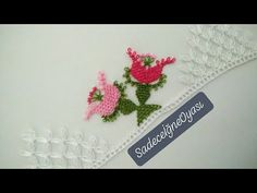 Creative Embroidery, Baby Booties, Origami, Diy And Crafts, Lace, Youtube, Crochet Shawl, Needlepoint, Hairstyle Man