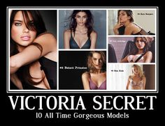 Do you know who are the 10 gorgeous Victoria Secret models who are ranking since long? lets have a look at this list which is based on public votes and search queries.