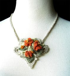 Crochet Necklace inspirations here
