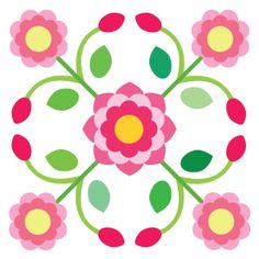 Sycamore Rose – Page 2 – Sycamore Hill Quilts Applique Templates, Applique Patterns, Applique Quilts, Barn Quilt Patterns, Hand Applique, Rose Applique, Flower Quilts, Rose Of Sharon, Flower Template