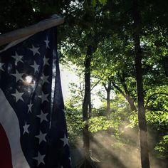 Departing flag