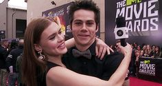 Dylan O'Brien and Holland Roden This two♥ they're just so cute